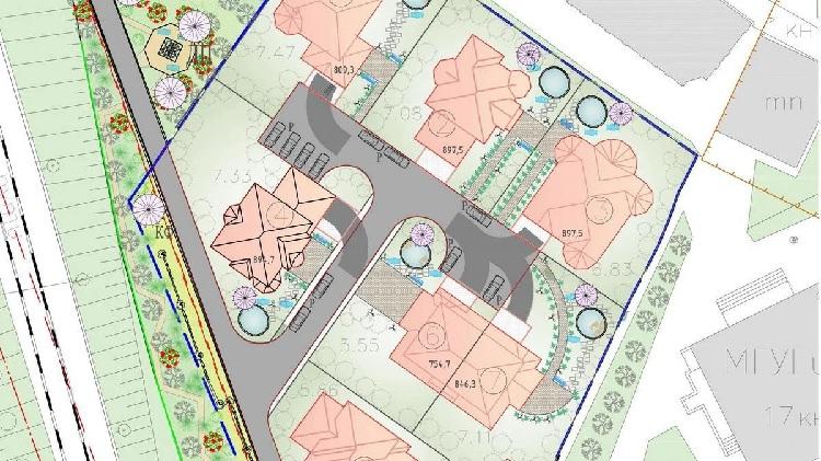 Так выглядит градостроительный план участка