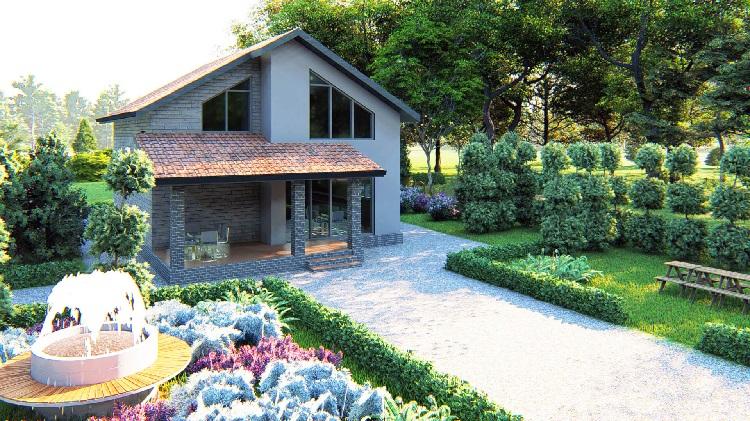 Частный дом не требует разрешения на строительство